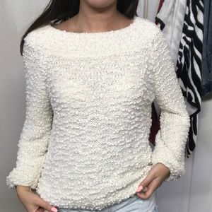 Billa Bong White Fluffy Sweater